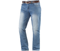 New Farrow Loose Fit Jeans Herren, light washed denim