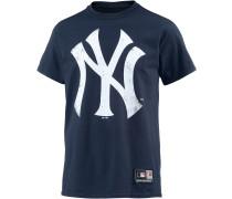 New York Yankees T-Shirt Herren, blau