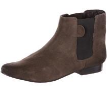 Chelsea Boots Damen, braun