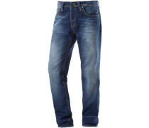 Hollywood Straight Fit Jeans Herren, blau