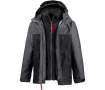 Doppeljacke Jungen, Center Black