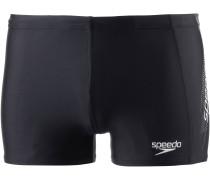 Sports Logo Aquashort Kastenbadehose Herren, mehrfarbig