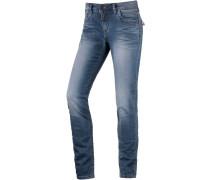 AureliaTZ Skinny Fit Jeans Damen, Blau