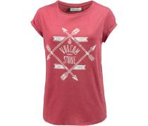 Sundaze T-Shirt Damen, rot