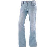 3301 Low Boyfriend Flare Bootcut Jeans Damen, light blue denim
