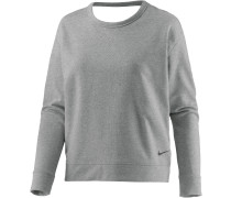 Dry Versa Open Langarmshirt Damen, grau