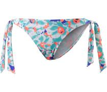 Summer Garden Bikini Hose Damen, weiß/mint/koralle