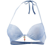 Offshore Denim Bikini Oberteil Damen, blau