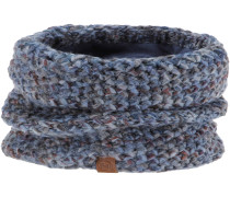 KNITTED & POLAR NECKWARMER MARGO Loop, blue