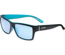 Kacey Sonnenbrille, black matt - blue