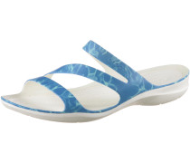 Swiftwater Graphic Sandalen Damen, blau