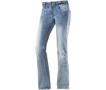 Greta Bootcut Jeans Damen, blau