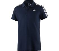 Essential 3S Poloshirt Herren, blau