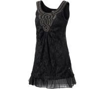 Matoury Trägerkleid Damen, schwarz