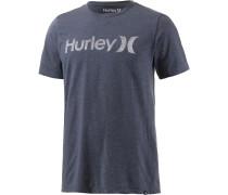 One&Only Printshirt Herren, blau