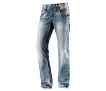 HaroldTZ Straight Fit Jeans Herren, blau