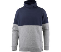 Sweatshirt Herren, TRUE GRAY HEATHER/STEALTH GRAY