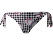 Bikini Hose Damen, schwarz/weiß/rosa