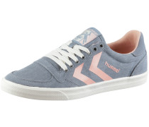 Slimmer Stadil Smooth Low Sneaker Damen, grau/rosa