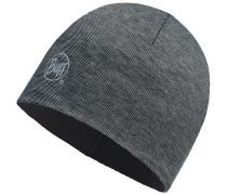 Microfiber & Polar Hat Beanie, grau