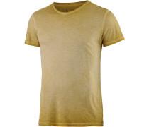 Keanu Printshirt Herren, grün