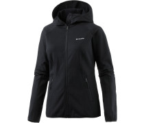 Walnut Hills Fleecejacke Damen, schwarz