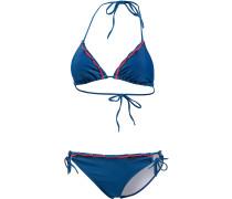 Tropically Bügelbikini Damen, blau