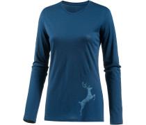 Tech Lite Printshirt Damen, leap largo
