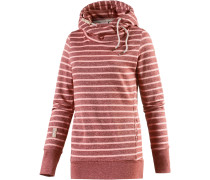 Beat Stripes Sweatshirt Damen, rot/rosa