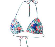 Summer Garden Bikini Oberteil Damen, weiß/mint/koralle