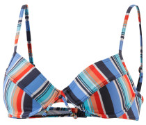 Naples Beach Bikini Oberteil Damen, blau