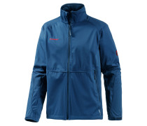 Ortler Advanced Softshelljacke Herren, blau
