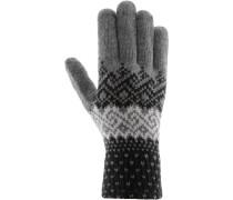 FANES Fingerhandschuhe, dark grey melange