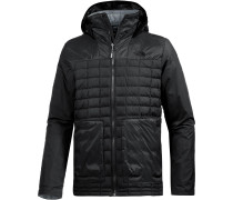 ThermoBall FZ Zip-In Kunstfaserjacke Herren, TNF Black