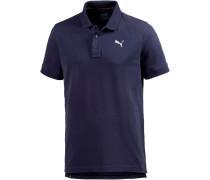 Essential Poloshirt Herren, blau