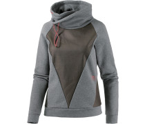 Olive Sweatshirt Damen, grau