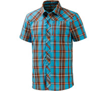 Marstein Kurzarmhemd Herren, blau