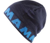 Logo Beanie, blau