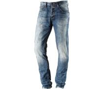 Elvis Slim Fit Jeans Herren, Blau