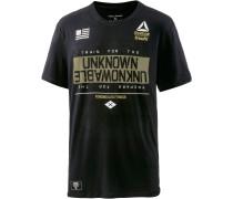 Crossfit T-Shirt Herren, schwarz