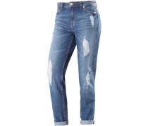 Liv Boyfriend Jeans Damen, blau