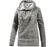 Sweatshirt Damen, grau washed