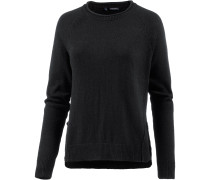 Strickpullover Damen, caviar black