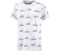 Boattrip T-Shirt Herren, weiß