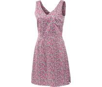 Wahia Millefleur Trägerkleid Damen, pink/allover