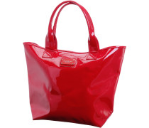 Hit the Beach Tote Shopper Damen, chillirot