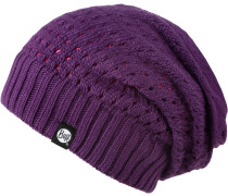 Knitted Neckwarmer Hat Loop, Lila