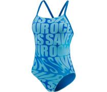 Parley for the Oceans Badeanzug Damen, mehrfarbig