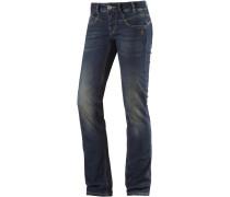 Silca Bootcut Jeans Damen, blau