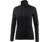 Tech Lite Langarmshirt Damen, schwarz